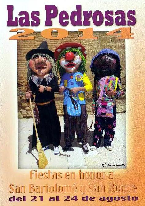 Programa fiestas Las Pedrosas 2014