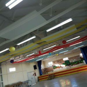Concluye la intervención de mejora de la acústica del pabellón
