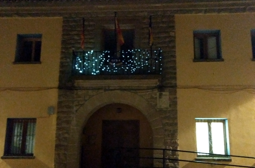 Iluminación navideña 2017