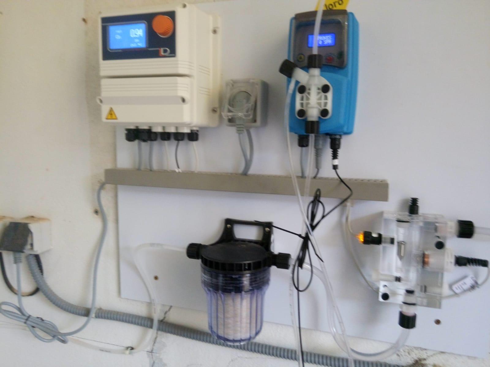 Nuevo equipo clorador en Las Pedrosas