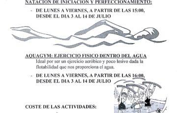 Aquagym Las Pedrosas 2017