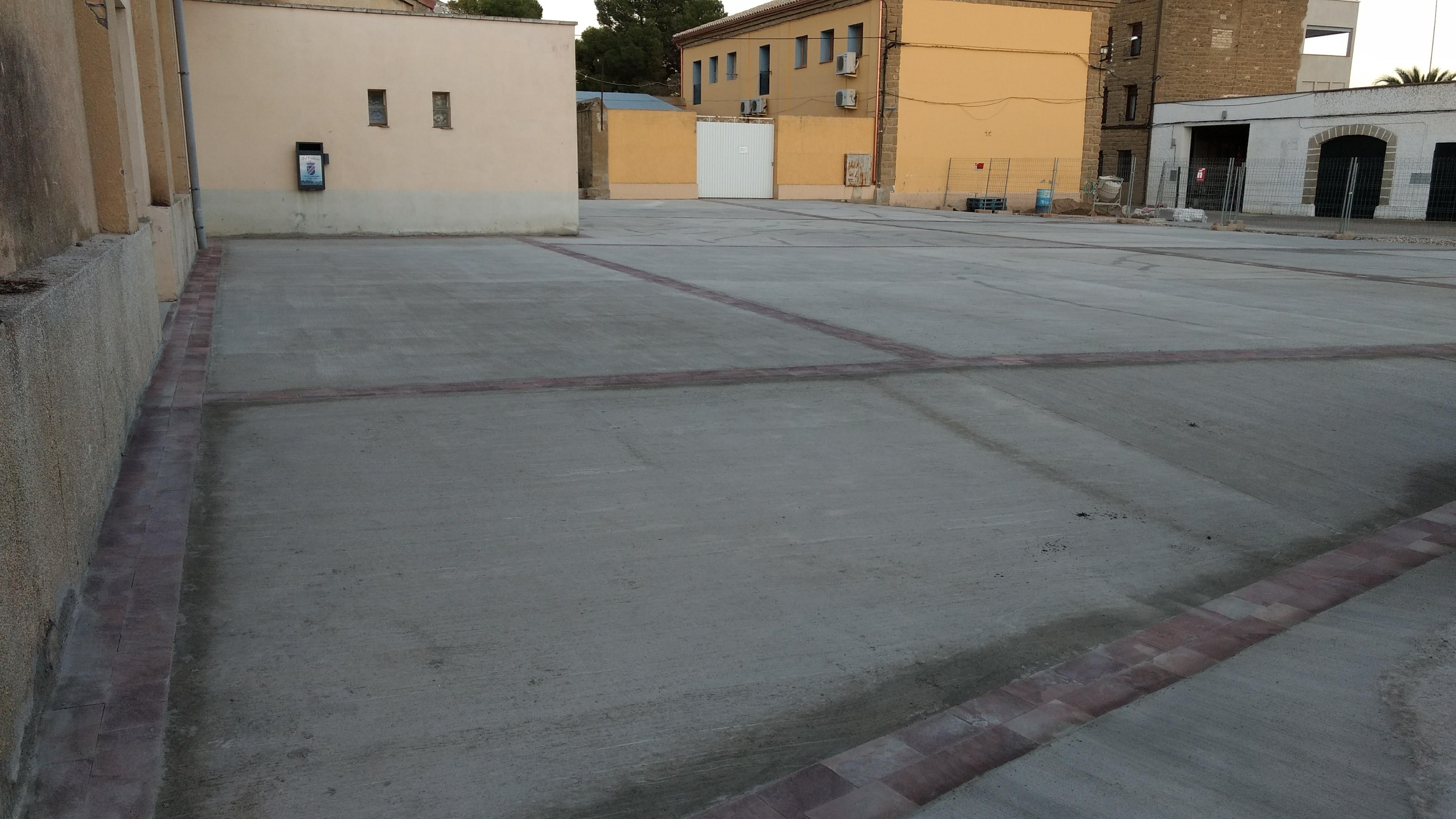 Plaza de los Danzantes de Las Pedrosas